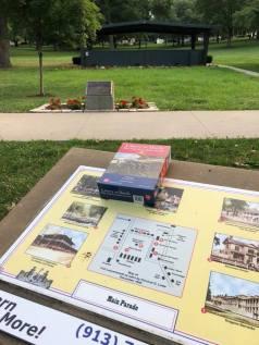 Scott Udell old parade grounds at Fort Leavenworth